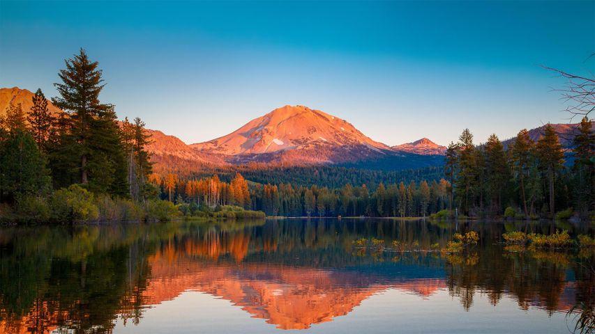 「ラッセン山」米国カリフォルニア, ラッセン火山国立公園