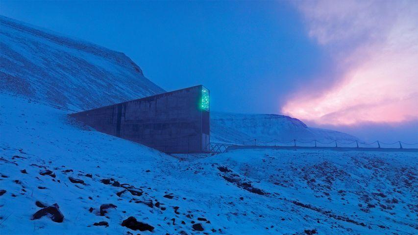 「スヴァールバル世界種子貯蔵庫」ノルウェー, スヴァールバル諸島