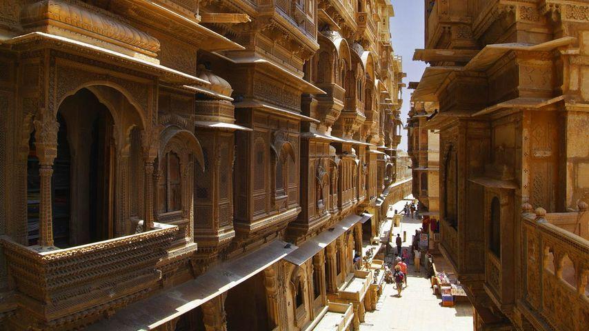 「ジャイサルメール」インド, ラージャスターン