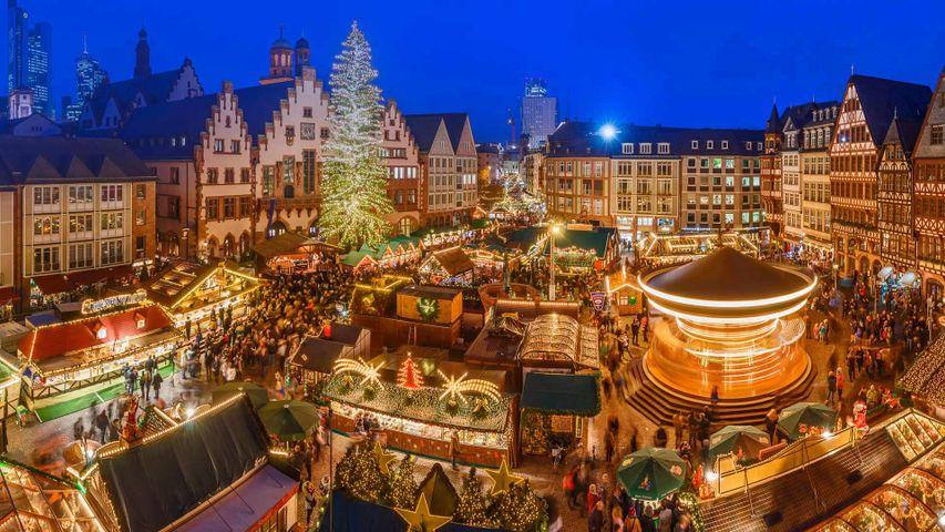「フランクフルトのクリスマスマーケット」ドイツ, フランクフルト