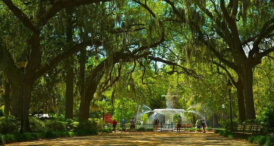 「フォーサイス公園」アメリカ, ジョージア州