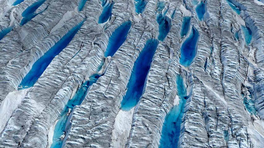 「グリーンランド氷床」グリーンランド