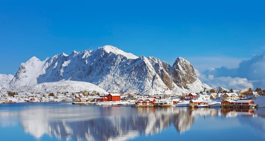 「レイネ」ノルウェー, ロフォーテン諸島