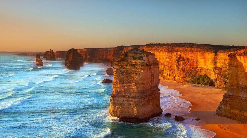 「ポートキャンベルの12使徒」オーストラリア