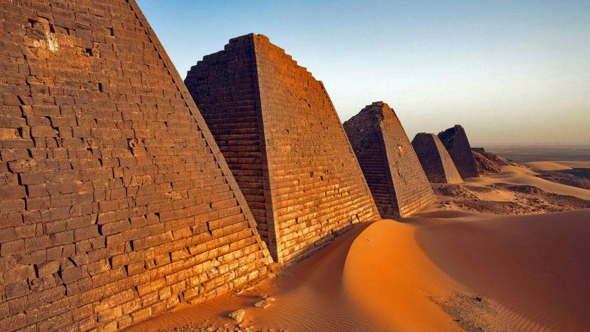 「メロエ遺跡」スーダン