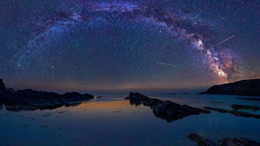 「ペルセウス座流星群」ブルガリア, シネモレツ