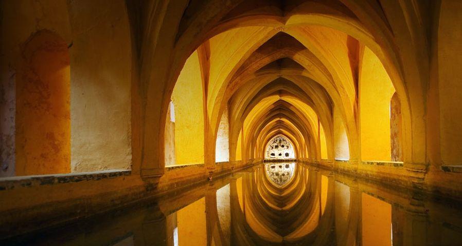 「マリア・デ・パデリアの浴槽」スペイン, セビリア, アルカサル