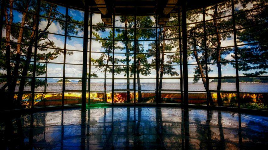「全南道海洋水産博物館」韓国, 麗水市