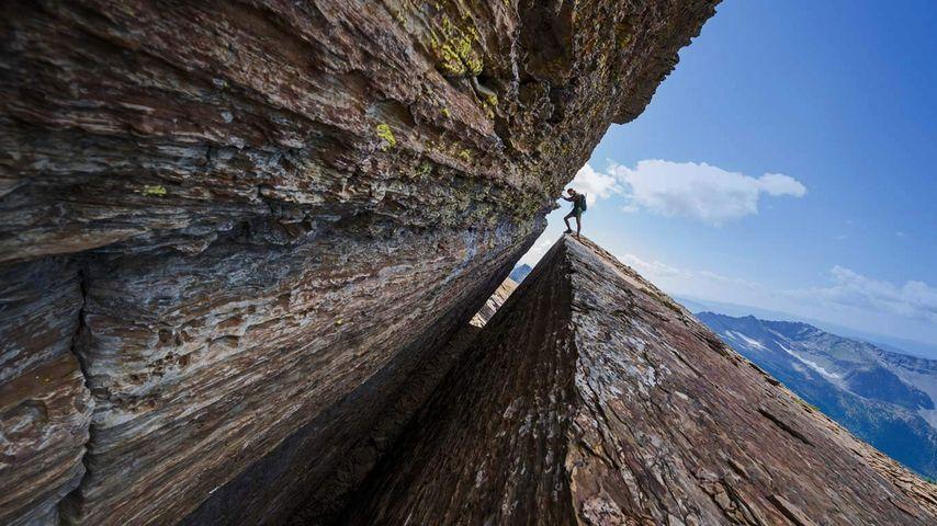 「キャビネット山脈自然保護区」米国, モンタナ州