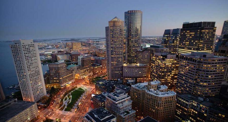 「ボストン市街」アメリカ, マサチューセッツ