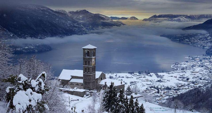 「コモ湖」イタリア