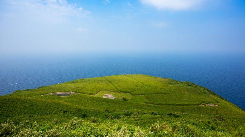 「青ヶ島」伊豆諸島