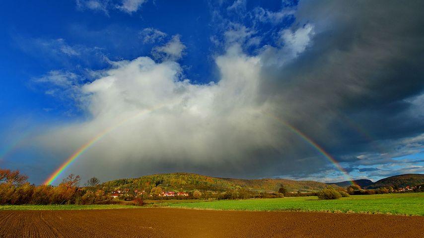 「プレッツフェルトの虹」ドイツ, バイエルン州