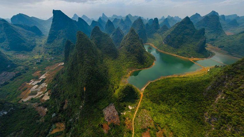 「桂林漓江」中国, 広西自治区