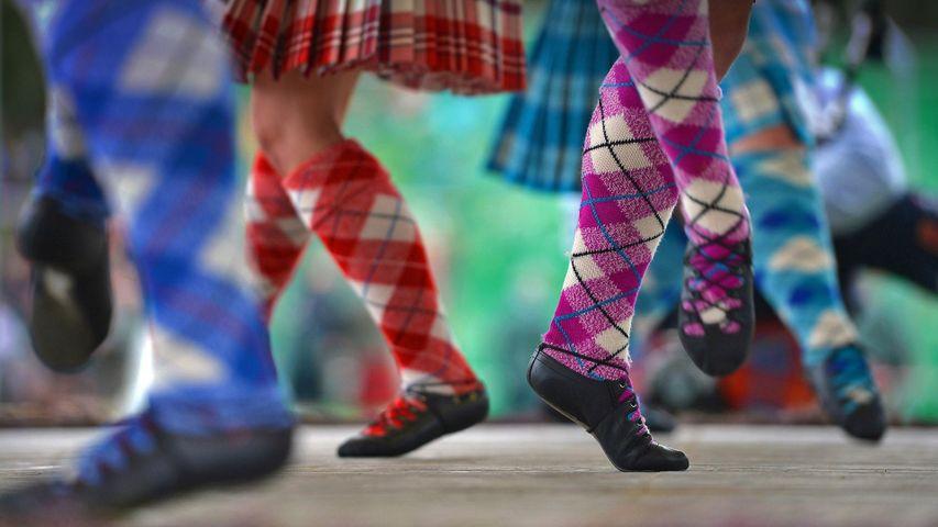 「ブレマー・ギャザリングのダンス」イギリス, スコットランド