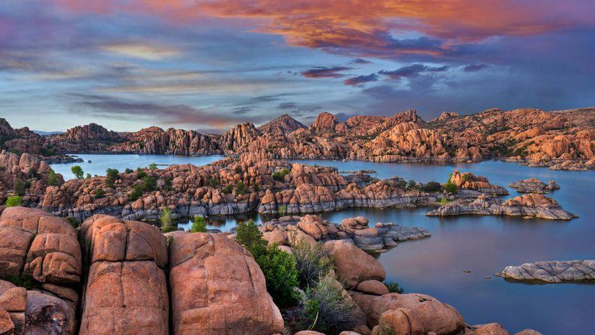 「ワトソン湖」アメリカ, アリゾナ州