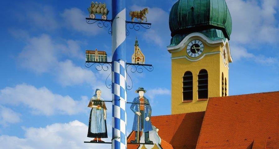 「メイポール」ドイツ, バイエルン, ウォルンザッハ