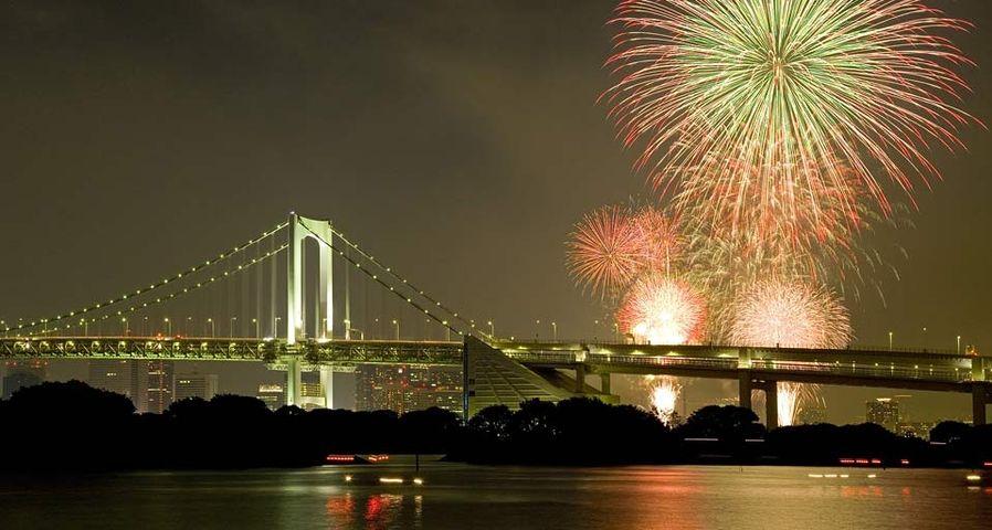 「東京湾大華火祭」東京, お台場