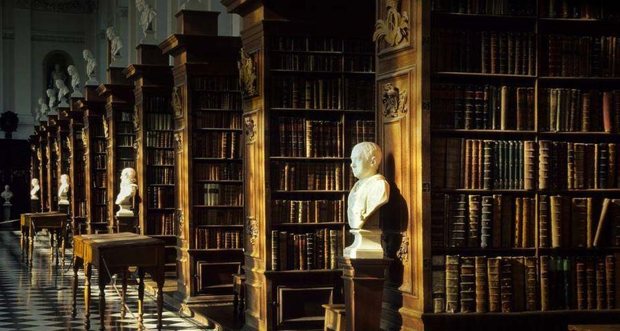 「トリニティ・カレッジのレン・ライブラリー」イギリス, ケンブリッジ大学
