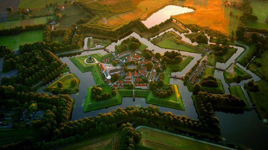 「ブールタング要塞」オランダ, フローニンゲン州