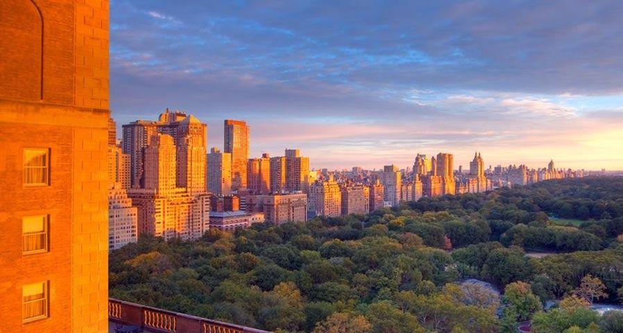 「セントラルパーク」アメリカ, ニューヨーク州, マンハッタン