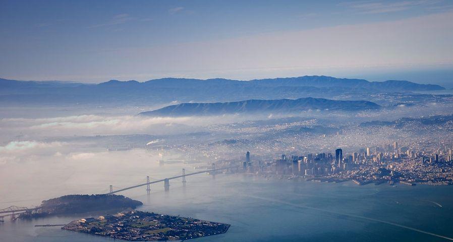「サンフランシスコ・オークランド・ベイブリッジ」アメリカ, カリフォルニア州