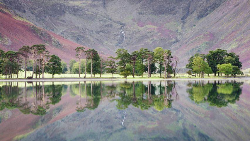 「バターミア湖」イギリス, 湖水地方