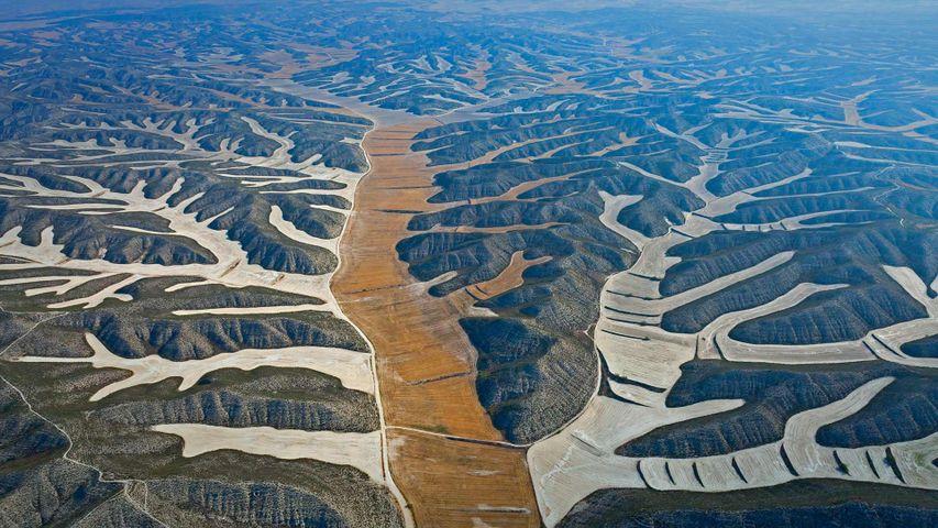 「モネグロス砂漠」スペイン, アラゴン