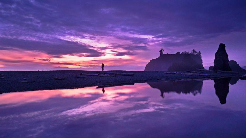 「ルビービーチ」アメリカ合衆国, ワシントン州