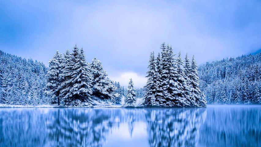 「トゥー・ジャック湖」カナダ, アルバータ州