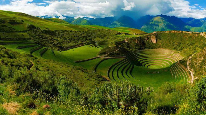 「モライ遺跡」ペルー