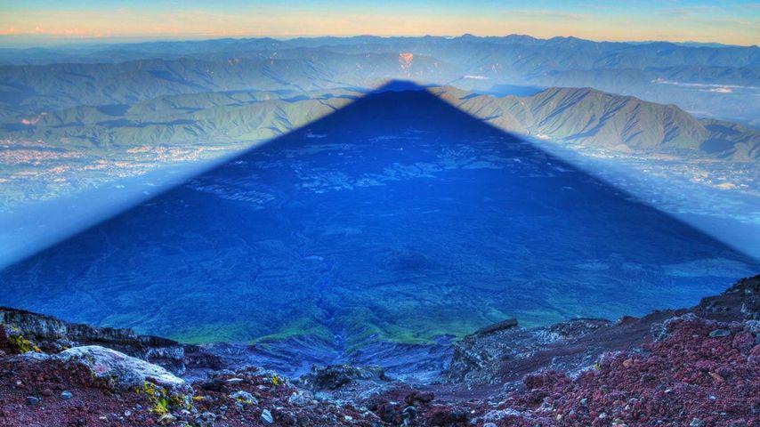 「影富士」富士山