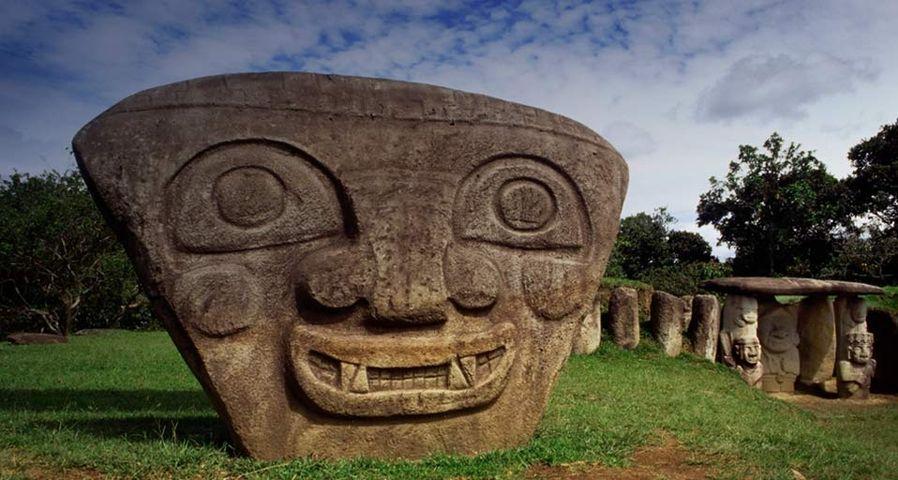 「サン・アグスティン遺跡公園」コロンビア, サン・アグスティン