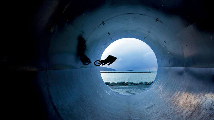 「トロンハイムの自転車乗り」ノルウェー