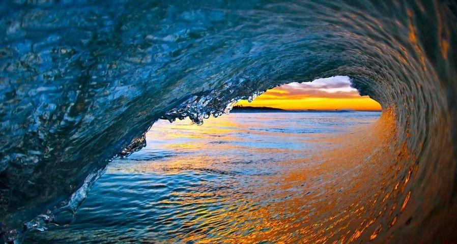「ベンチュラの波」アメリカ, カリフォルニア州