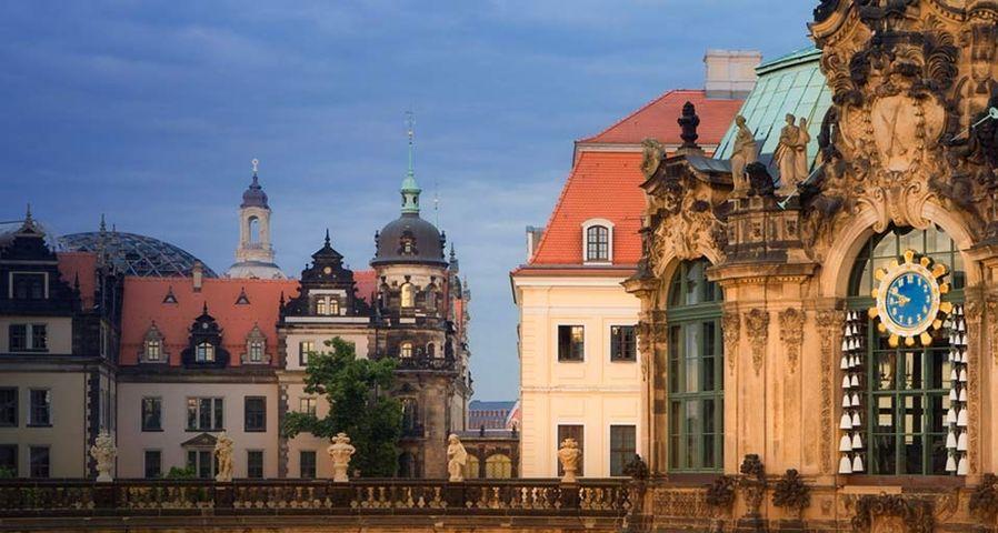 「ツヴィンガー宮殿」ドイツ, ドレスデン