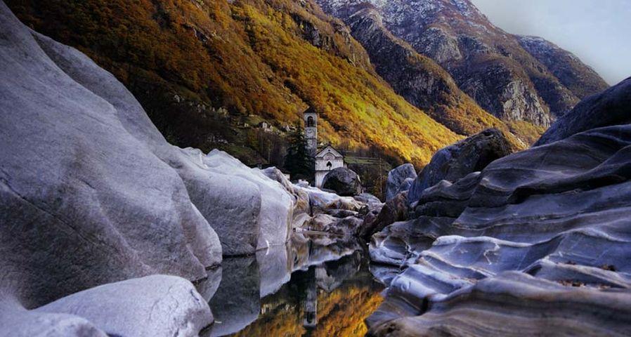 「ヴェルザスカ渓谷」スイス, ティチーノ州