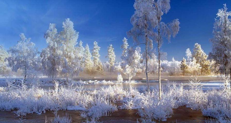 「雪のダーラナ」スウェーデン