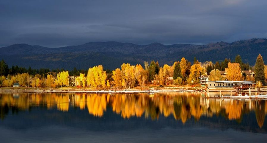 「ペイエット湖」アメリカ, アイダホ州, マッコール