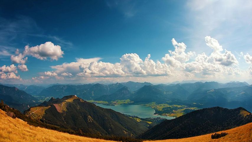 「ヴォルフガング湖」オーストリア, ザルツカンマーグート