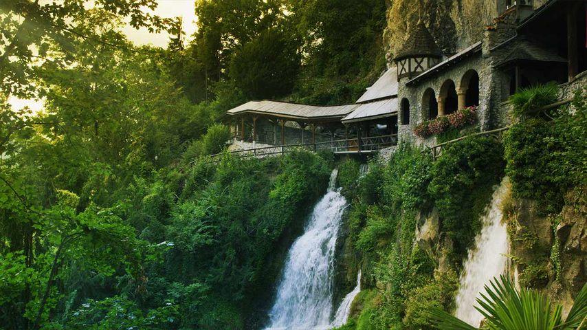 「セイント・ビータス洞窟」スイス, ベアテンベルク