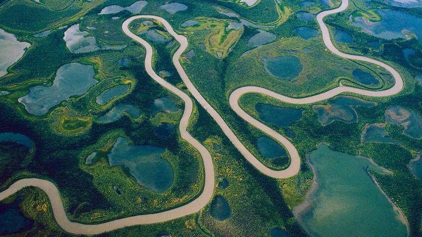「マッケンジー川」カナダ, ノースウエスト準州