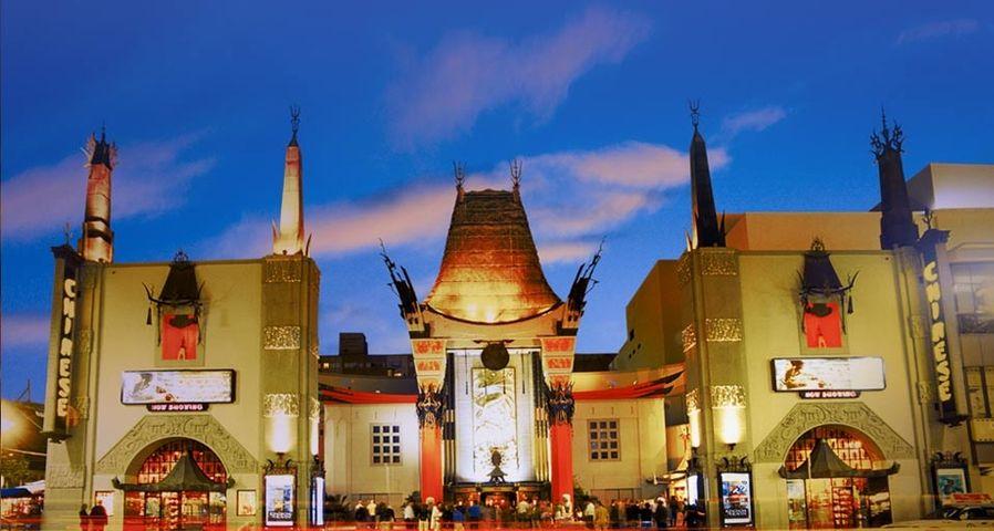 「グローマンズ・チャイニーズ・シアター」アメリカ, カリフォルニア州, ハリウッド