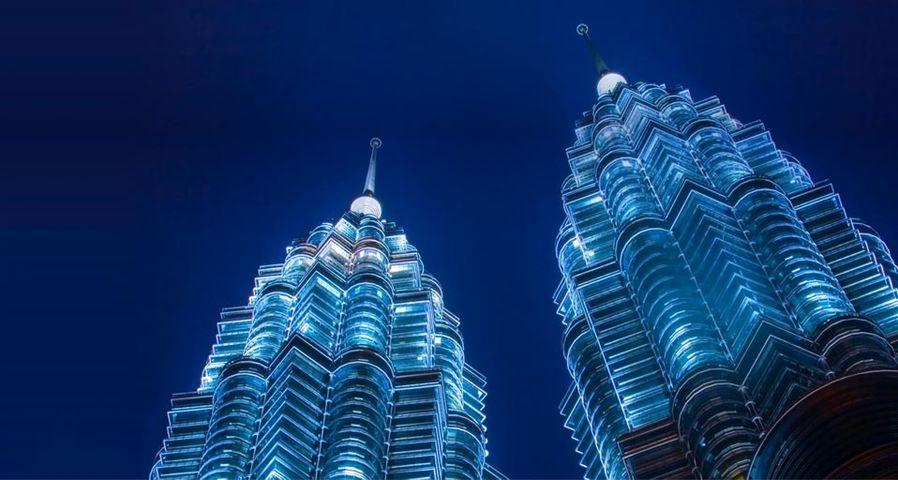 「ペトロナス・ツインタワー」マレーシア, クアルランプール