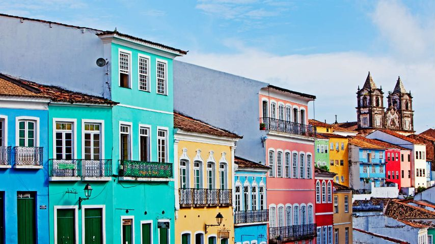 「サルヴァドール・デ・バイーア歴史地区」ブラジル, サルヴァドール・デ・バイーア