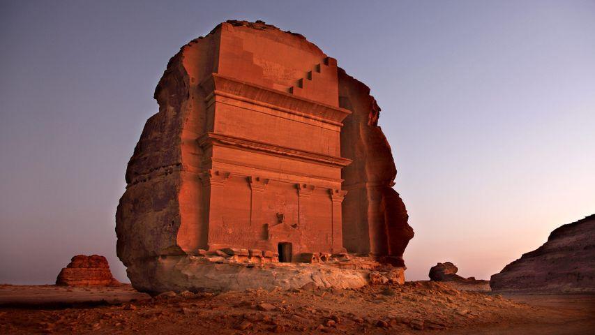「マダイン・サーレハ」サウジアラビア