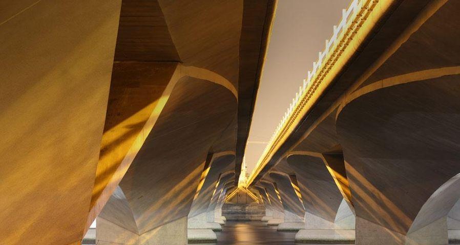 「エスプラネード橋」シンガポール, マリーナ湾