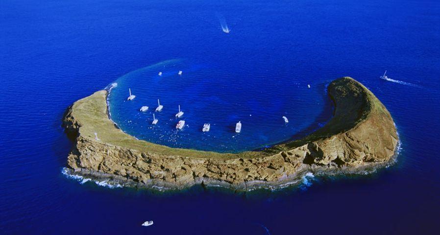 「モロキニ島」ハワイ