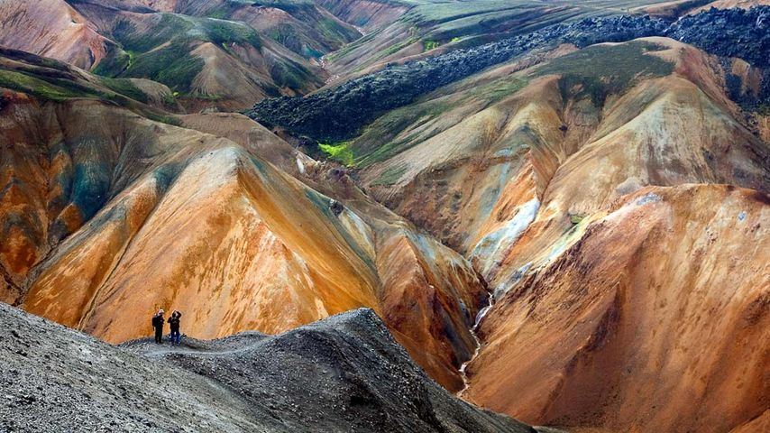 「ランドマンナロイガル」アイスランド