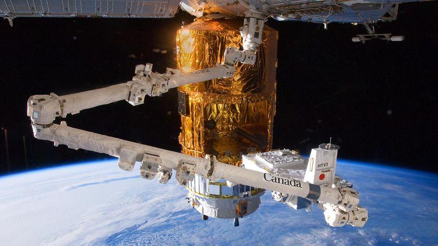 「こうのとり3号機」国際宇宙ステーション